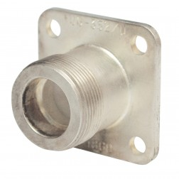 UG352/U LC Female 4 Hole Chassis Mount Connector, Delta