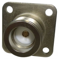 UG352A/U LC Female 4 Hole Chassis Mount Connector