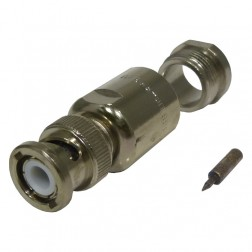 UG959/U Connector, BNC Male Clamp, RG213/214, Amphenol (000-6775)