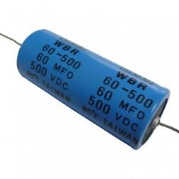 WBR60-500 Capacitor, 60 uf 500v, CDE