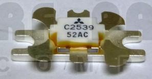 2SC2539 NPN Epitaxial Planar Transistor, 175 MHz, 13.5 V, 14 W, Mitsubishi