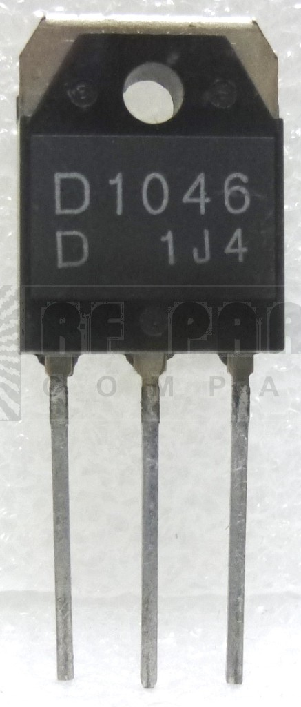 2SD1046 Transistor, Large Power Switching, 50 watt, Sanyo