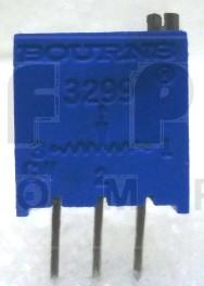 "3299W-500  3/8"" Square Trimpot Trimming Potentiometer, 500 ohm, 0.5 watt, Bourns"