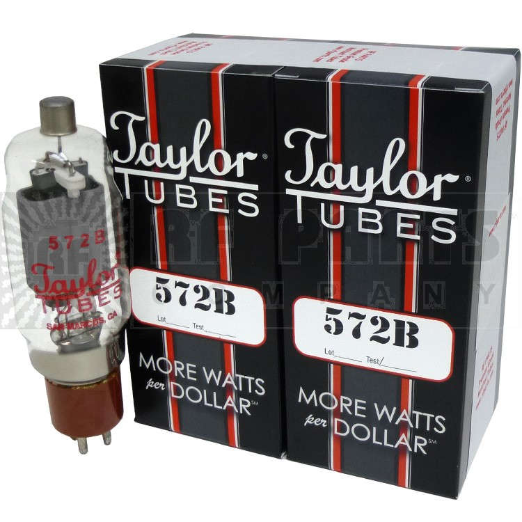 572BMP-TAY - Matched Pair of Taylor 572b Tubes