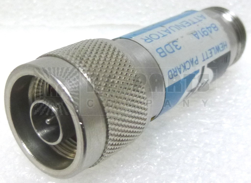 8491A  Fixed Attenuator, 3dB 2w, Type-N Male/Female, HP (Clean Used)