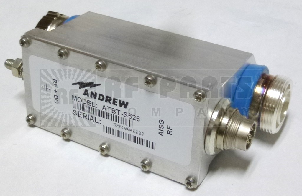 ATBT-S526  Smart Bias T, Wireless, 800-960 -- 1710-2170 MHz, Andrew