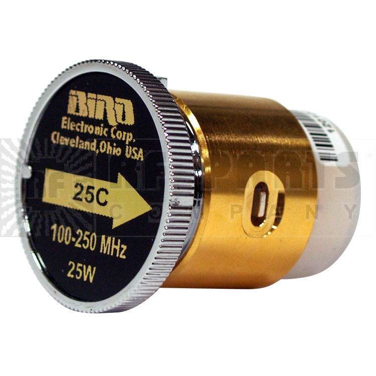 BIRD25C-2 - Bird 100-250 mhz 25 watt element (Good used condition)