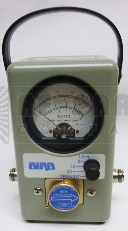 4308-1  Bird Wattmeter. Celluar Specialist, Excellent Used Condition, Bird Electronics