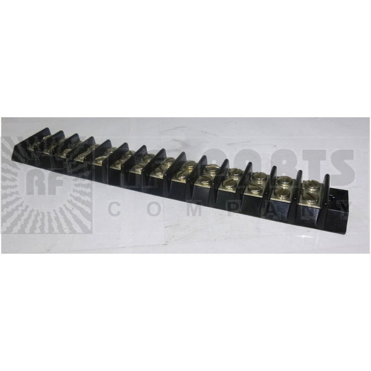 BTS14-20  Double Row Barrier Terminal Strip, 14 position, 20 amp