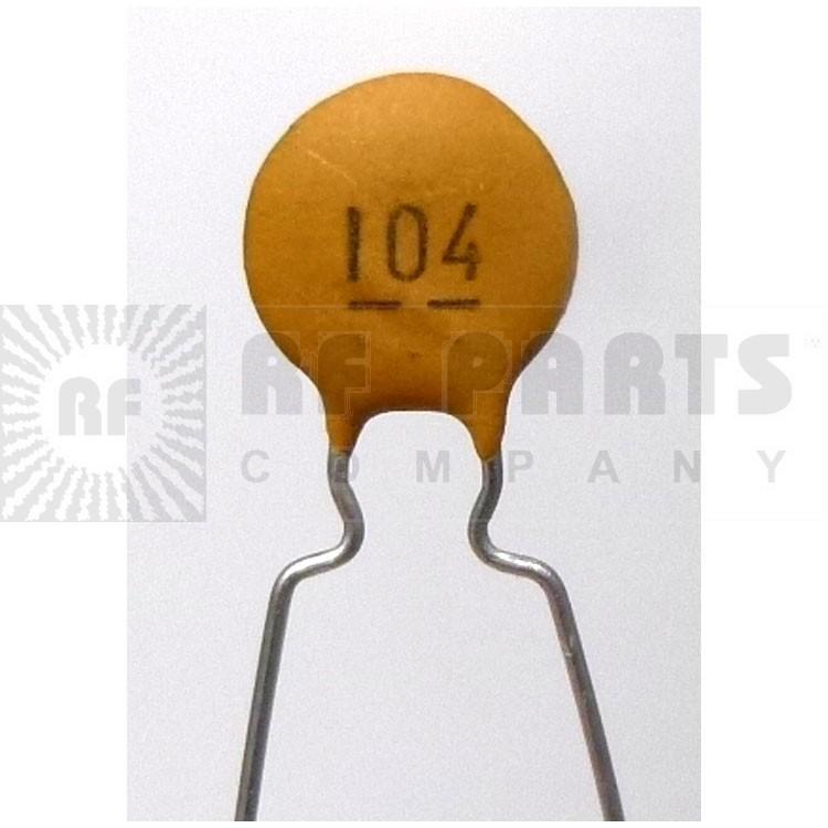 C104 50 Ceramic Disk Capacitor 0 1uf 50 Volt Ceramic