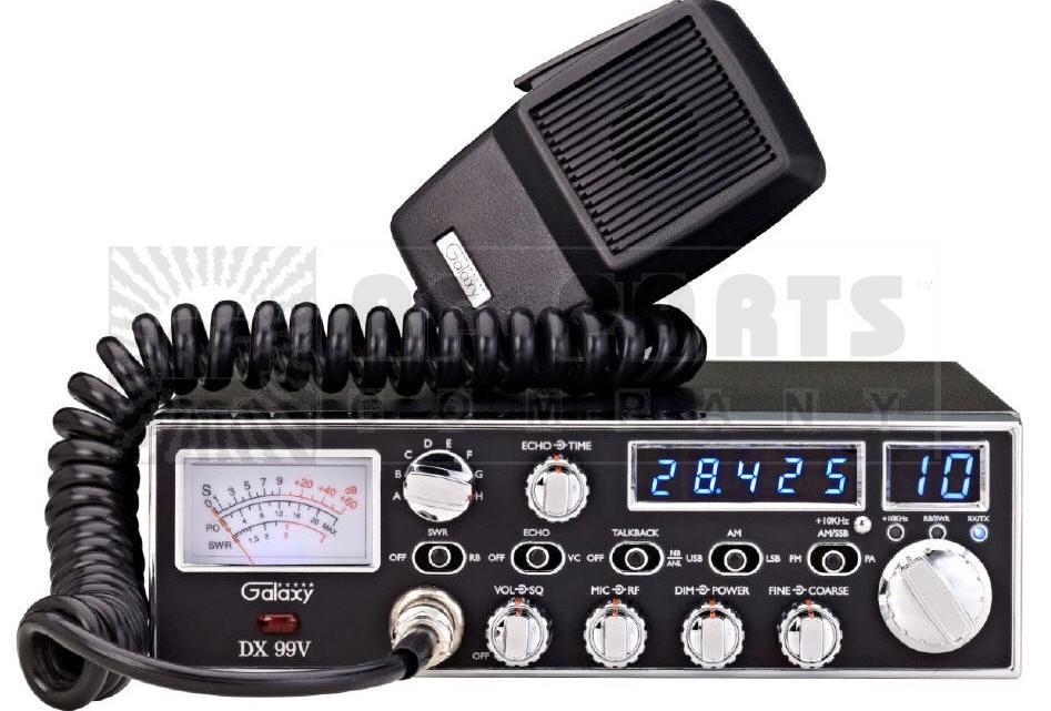 DX99V - 10M  CW Transmitter, Galaxy