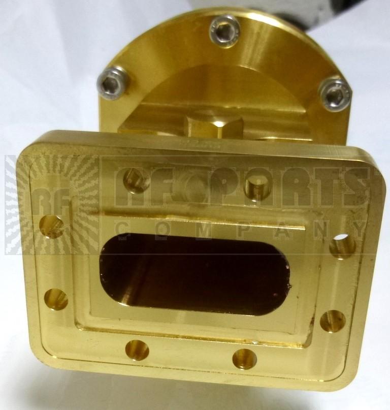 EU77PCPR112G Elliptical Waveguide Flange Connector for EU77, Grooved, Eupen