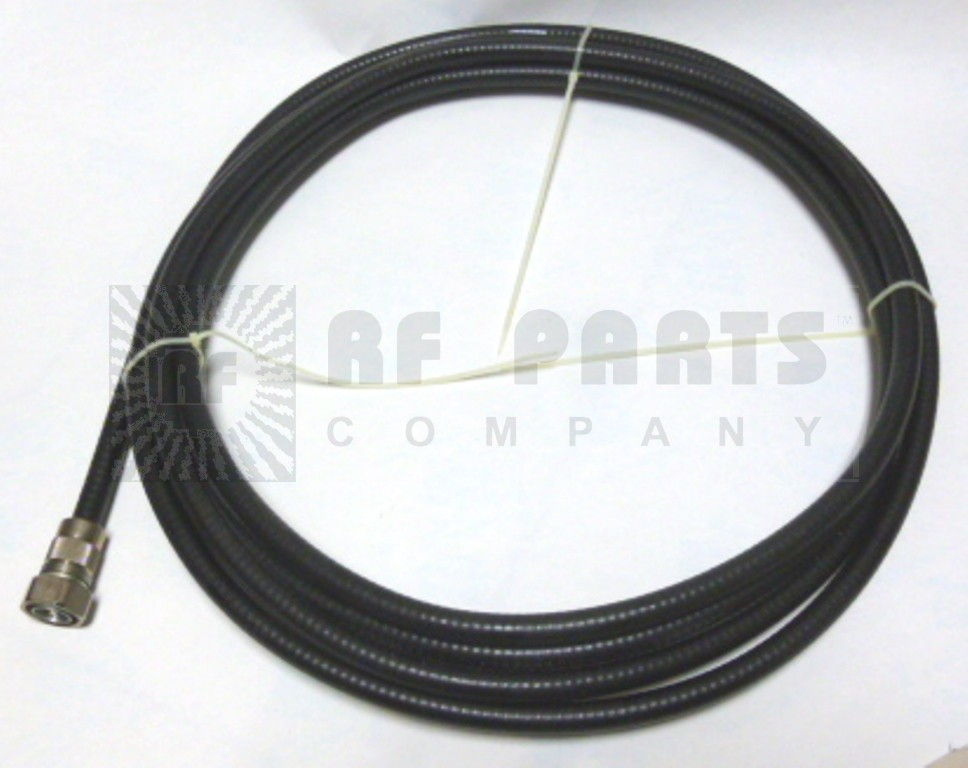 L4A-PDMP-20  Pre-Made Cable Assembly, 20 ft LDF4-50A w/7/16 DIN Male PPC Connector Installed on one side