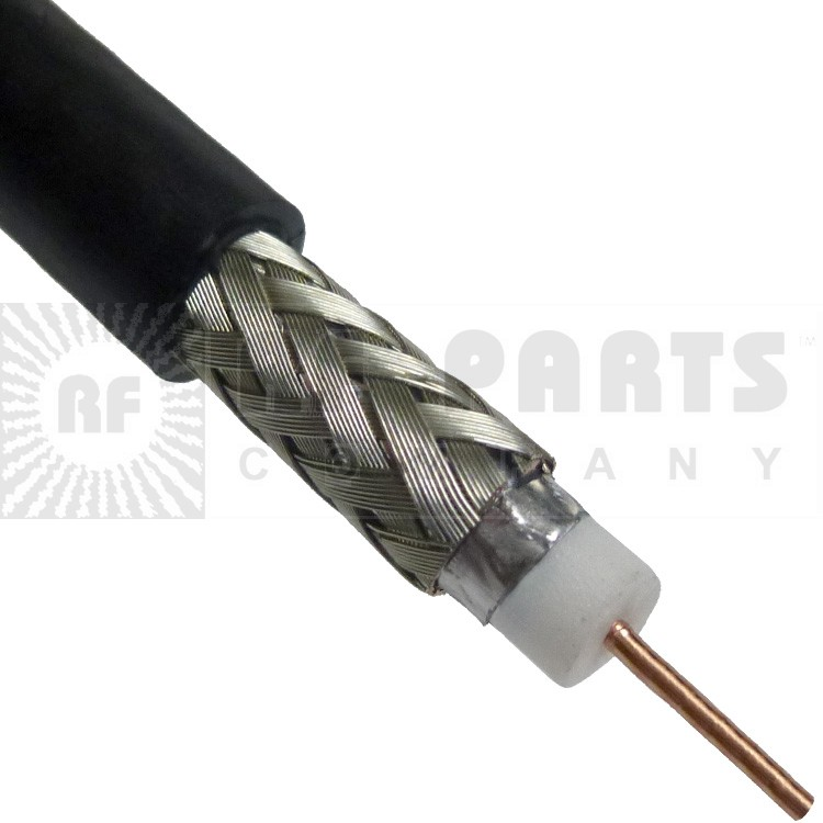 LMR240-75 Coax Cable, 75 Ohm, Times Microwave