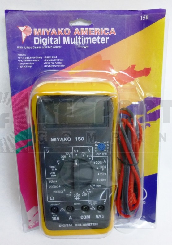 MIYAKO-150 Digital Multimeter