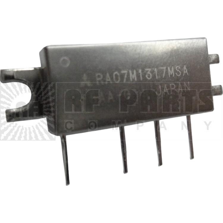 RA07M1317MSA, RF Power Module, 130-170 MHz, 7 Watt, 7.2v, Metal Case, Mitsubishi