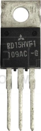 RD15HVF1-101  Transistor, 15 watt, 175 MHz, 12.5v, Mitsubishi