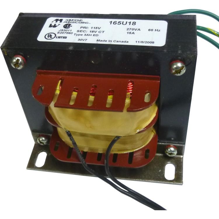 165u18 18vct 15 amps transformer mfr hammond rh rfparts com