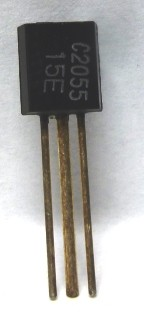 2SC2055 NPN Epitaxial Planar Transistor, 175 MHz, 7.2 V, 0.2 W, Mitsubishi