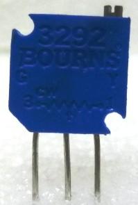 "3292W-20K  3/8"" Square Trimpot Trimming Potentiometer, 20000 ohm, 0.5 watt, Bourns"
