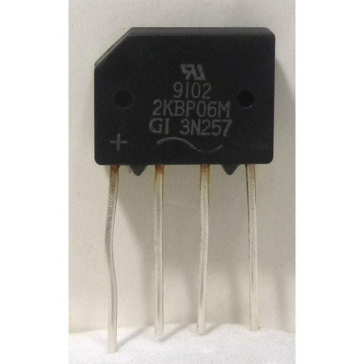 3N257 Rectifier, 2a 600v, General Instrument