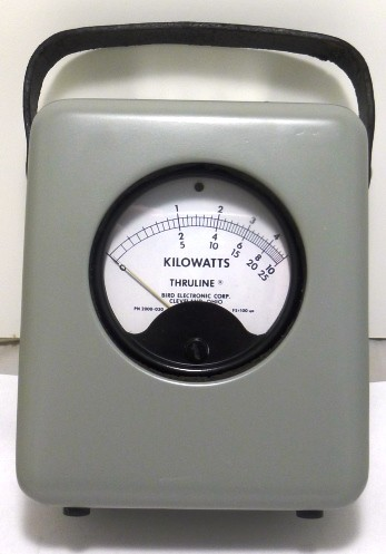 4721 Bird Meter Housing, 100ua, 5/10/25 KW Scales, BIRD (Clean Used Condition)