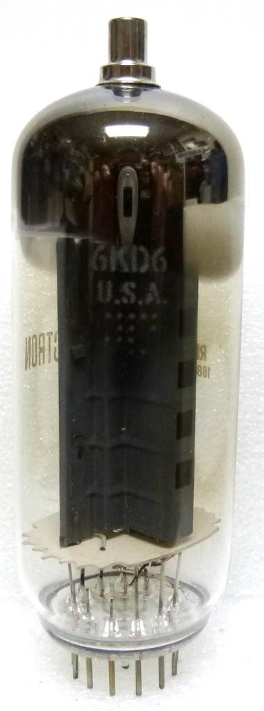 6KD6-GE Tube, Power Beam Amplifier, GE