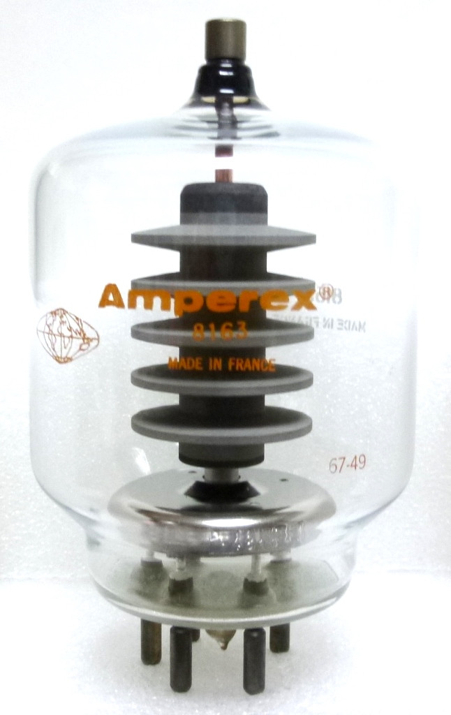 8163  Transmitting Tube, Amperex (NOS) 8163/3-400Z