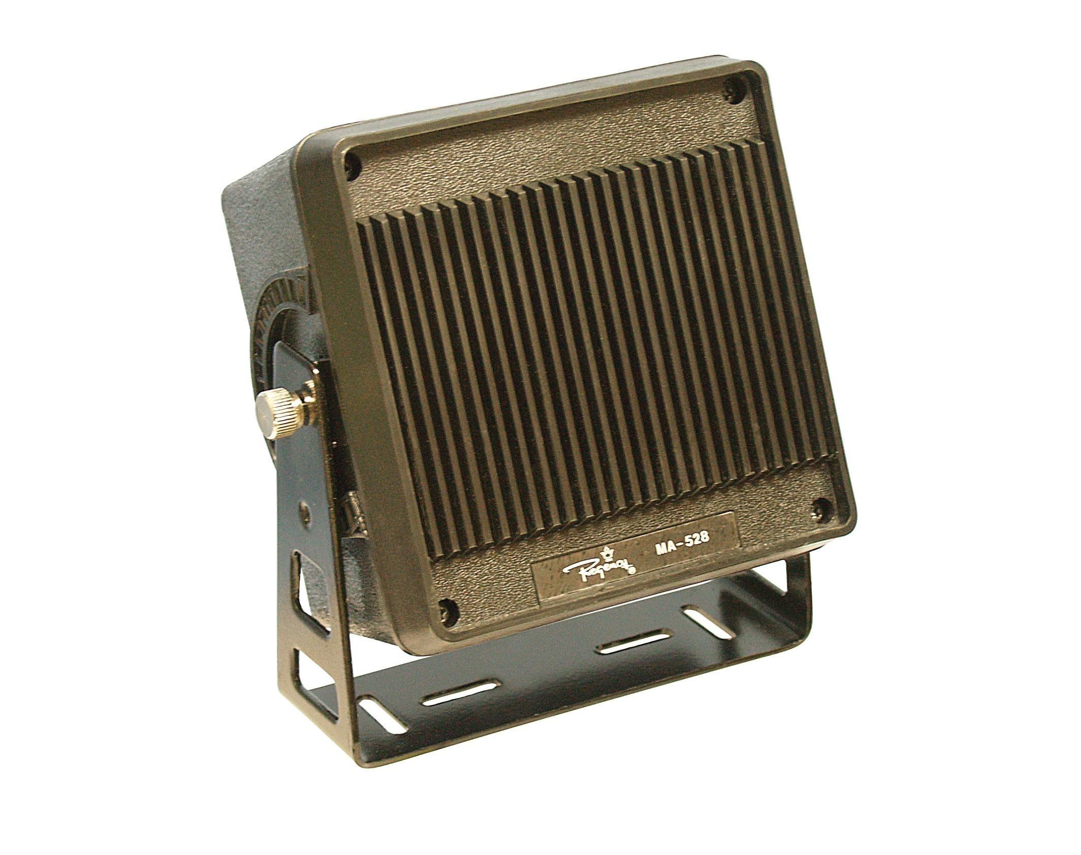 MA528 Speaker, square w/bracket, 16ohm 3w w/10ft cable,Regency 4-1/2 x 4-1/2 x 3