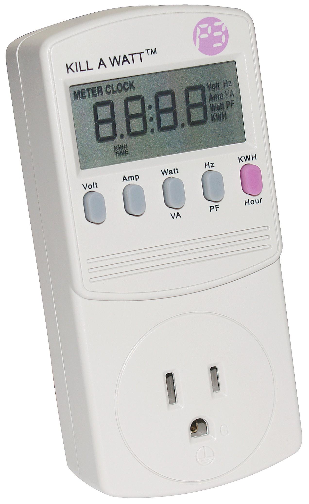 P4400 Kill a Watt, Electricity usage monitor