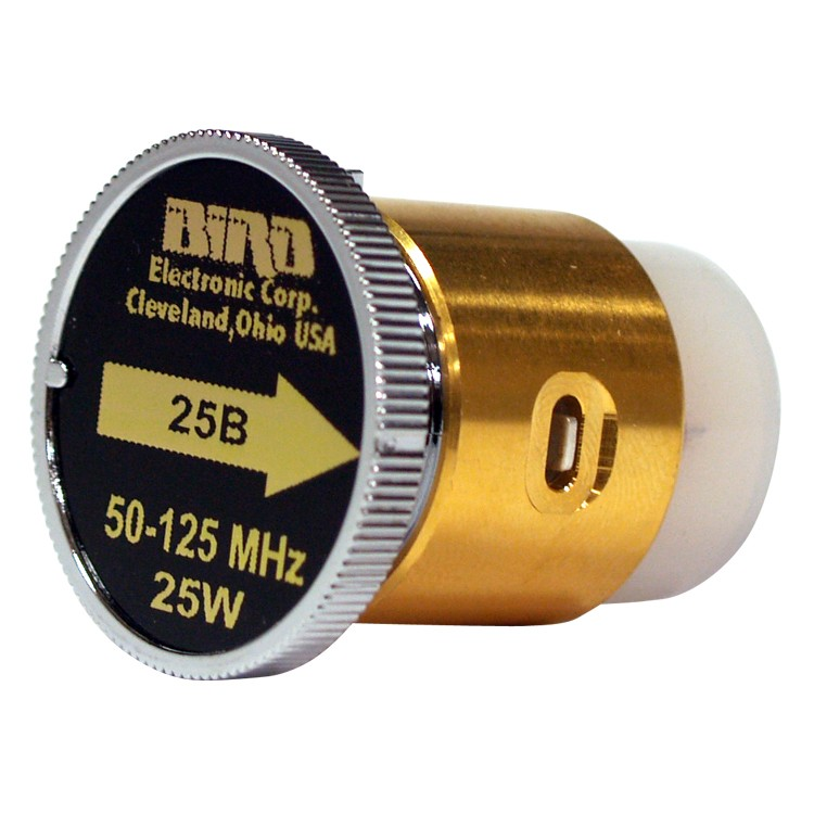 BIRD25B  Bird Wattmeter Element,  50-125 MHz, 25 Watt, Bird