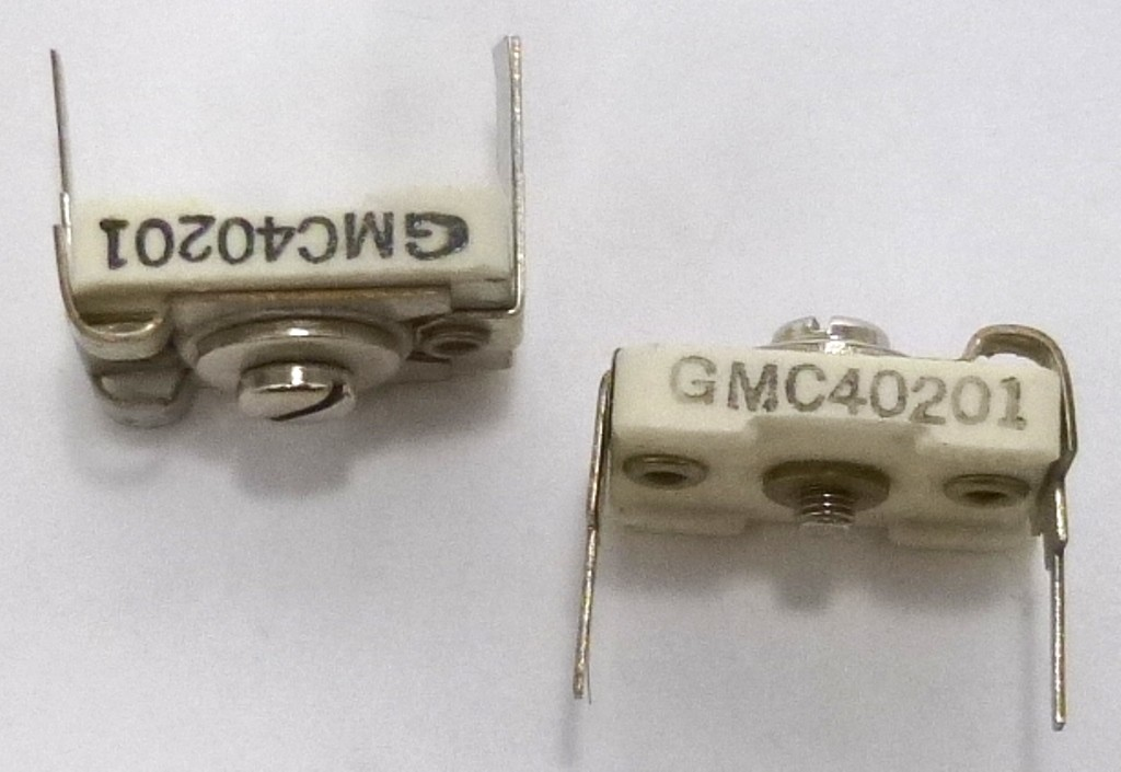 Gmc40201 Trimmer Variable Compression Mica Capacitor 10