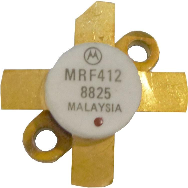MRF412 NPN Silicon RF Power Transistor, 70 W (PEP or CW), 30 MHz, 13.6 V, Motorola