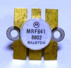 MRF641MP NPN Silicon RF Power Transistor, 12.5 V, 470 MHz, 15 W, Matched Pair, Motorola