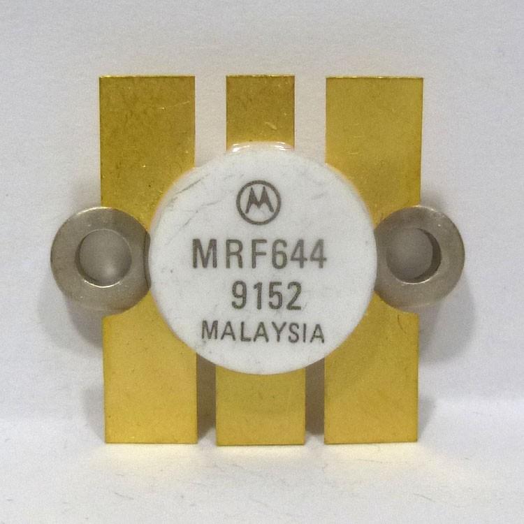 MRF644 NPN Silicon RF Power Transistor, 12.5 V, 470 MHz, 25 W, Motorola