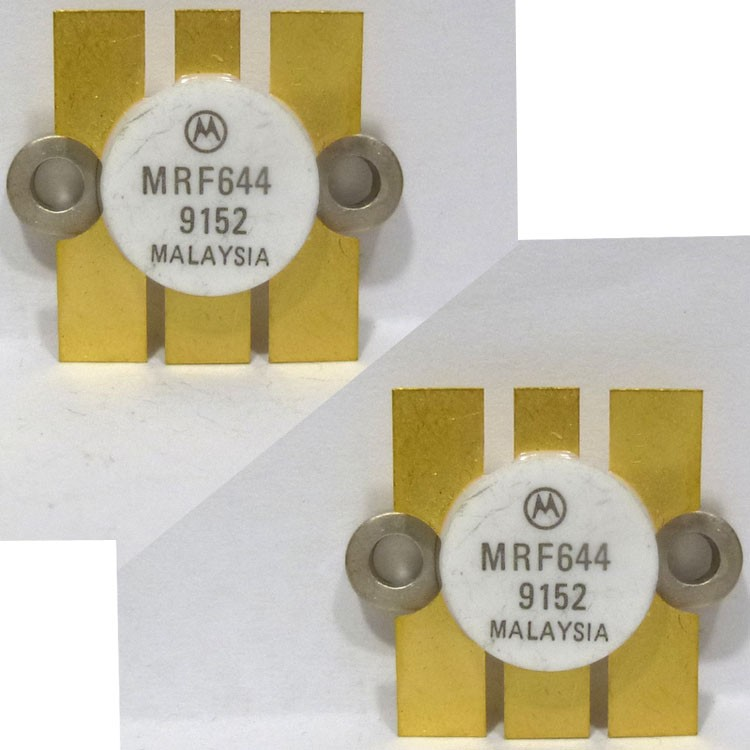 MRF644MP NPN Silicon RF Power Transistor, 12.5 V, 470 MHz, 25 W, Matched Pair, Motorola