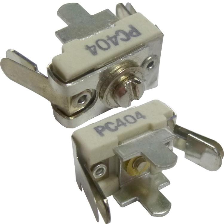 404-PC Trimmer, compression mica, 12-65 pf. pc mount