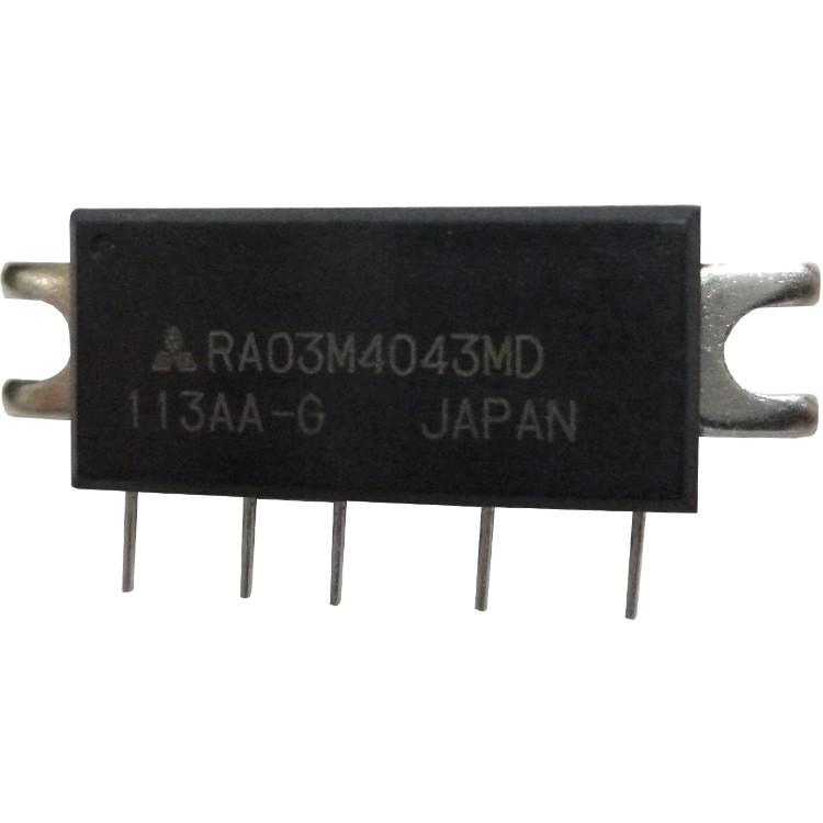 RA03M4043MD, RF Power Module, 400-430 MHz, 3 Watt, 7.2v, Mitsubishi