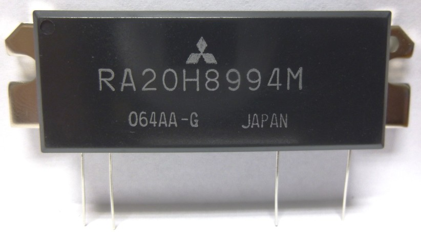 RA20H8994M-101  RF Module, 889-941 MHz, 20 Watt, 12.5v