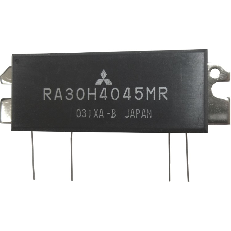 RA30H4045MR  RF Module, 400-450 MHz, 30 Watt, 12.5v, Reverse Pin out, Mitsubishi