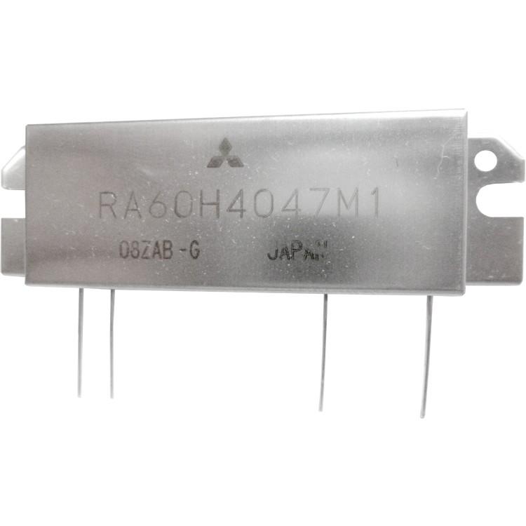 RA60H4047M1-101 RF Module, 400-470     MHz, 60 Watt, 12.5v, Metal Case