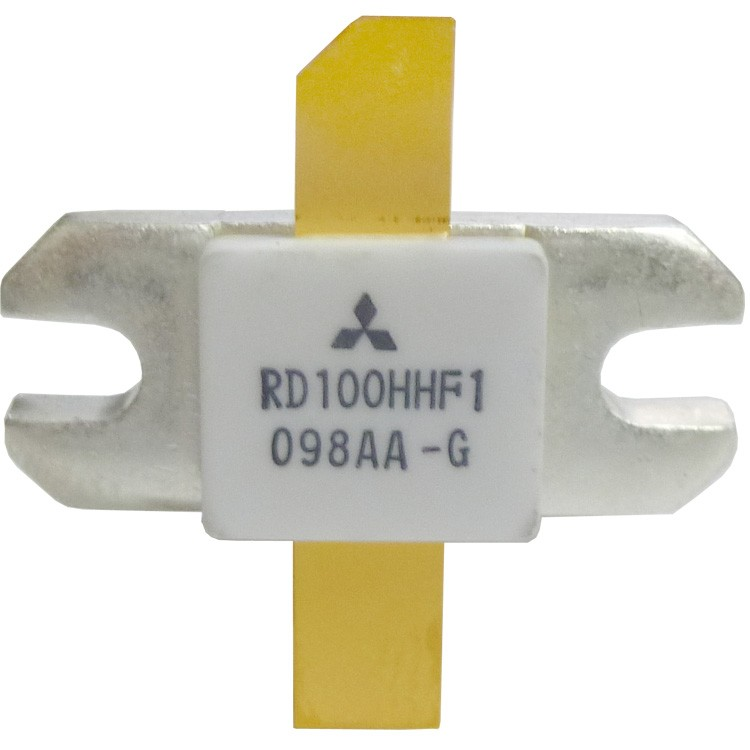 RD100HHF1  Transistor, 100 watt, 30 MHz, 12.5v, Mitsubishi