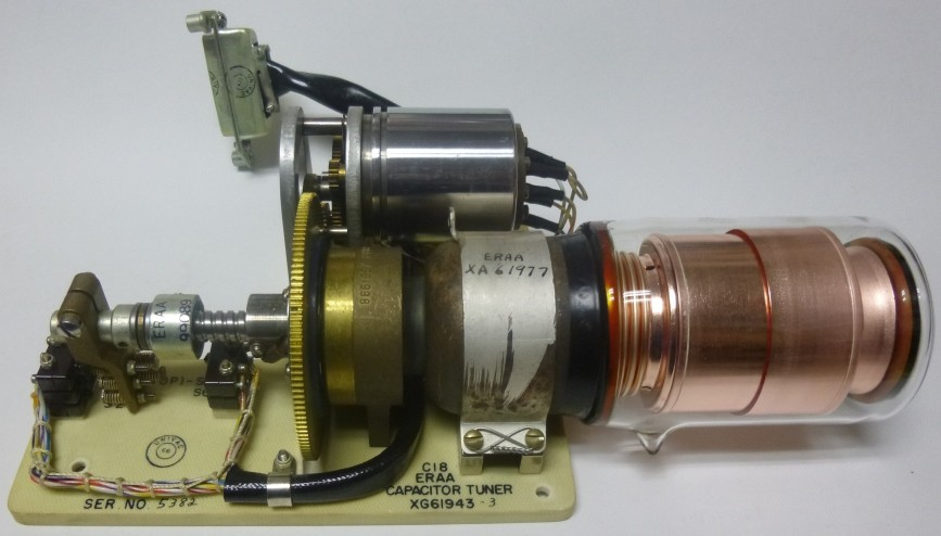 UCS300-10KV Vacuum Variable Capacitor embly, 10-300pf 10kv ...