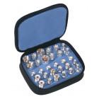 RFA4024 Unidapt Adapter Kit, 30 piece, Silver Plated, RFI