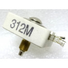 312M  Trimmer Capacitor, compression mica, 800-1970PF