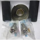 1-AMP5875-29N-I  Type-N Male Crimp Connector kit (LMR400 / 9913), 2 connectors w/ Heatshrink & Coax Seal, RF Parts