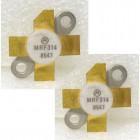 MRF314MP NPN Silicon Power Transistor, Matched Pair, 30W, 30-200MHz, 28V, Motorola