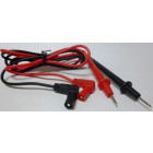 TESTLEAD1  Universal Test Lead set, 1m (3.3ft) RED/BLACK