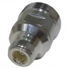 RFD1673-2  Between Series Adapter, 7/16 DIN Female to Type-N Female, RF Industries