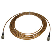 142NMNM-30 Pre-Made Cable Assembly, 30 Foot RG142 with Type-N Male on both sides, Huber Suhner